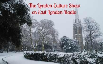 updated london culture show in snow pic